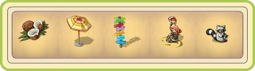 Name:  Coconuts, Colourful parasol, Colourful signpost, Confident crew member, Content raccoon.jpg Views: 84 Size:  24.8 KB