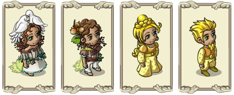 Name:  Glass slippers (female) and (male), Gold rush (female) and (male).jpg Views: 105 Size:  93.6 KB