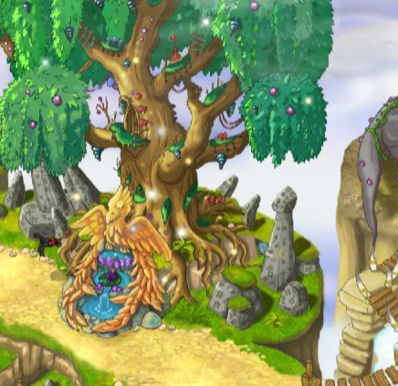 Name:  The World Tree - four little mushrooms.jpg