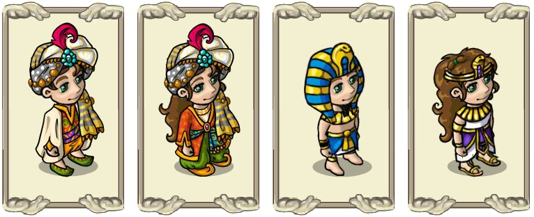 Name:  Headwear, Magnificent sun protection (m) and (f), Majestic headdress (m) and (f).jpg Views: 1249 Size:  96.2 KB