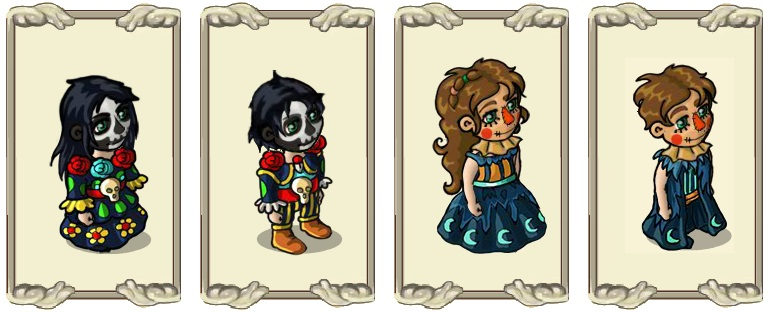 Name:  Eerie skeleton make-up (female) and (male), Gruesome scarecrow make-up (female) and (male).jpg Views: 1125 Size:  85.4 KB