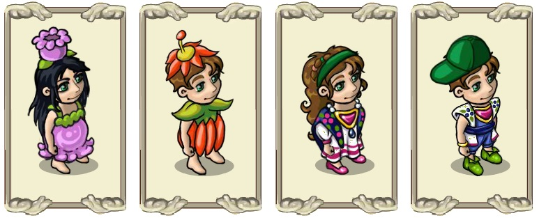 Name:  Scented spring cover (lilac) (female) and (male) (orange), Spring Weather Headgear (female) and .jpg Views: 419 Size:  86.4 KB