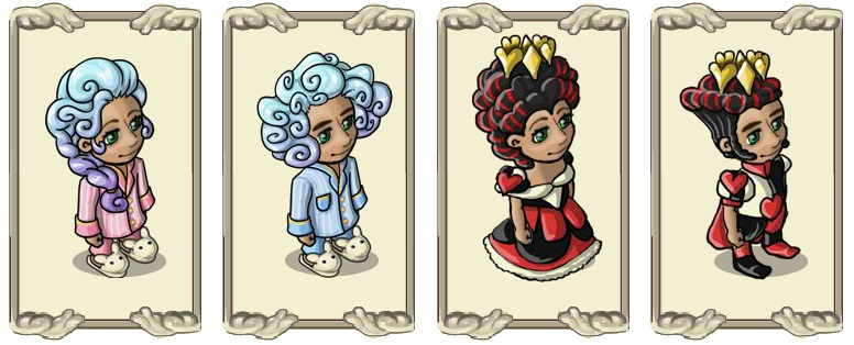 Name:  Cloudy curls (female) and (male), Crown of cards (female) and (male).jpg Views: 147 Size:  94.3 KB