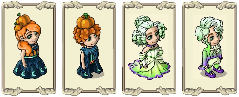 Name:  Pumpkin wig (female) and (male), Spooky locks (female) and (male).jpg