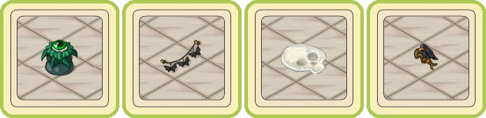 Name:  Attentive potted herb (green eyed), Bat garland (wall), Bizarre rug, Black raven (wall).jpg