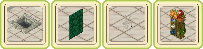 Name:  Mysterious hole, Poison-green wallpaper (tall), Practical spider web, Practical wardrobe.jpg