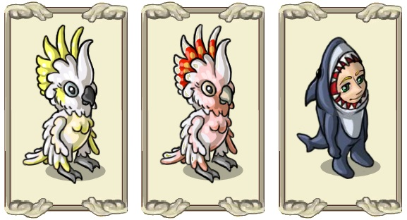 Name:  Cockatoo costume, Exotic cockatoo costume, Fishy yet ergonomic (all male and female).jpg