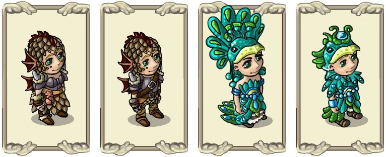 Name:  Equipment of the dragon rider (female) and (male), Festive dress of dragon care (female) and (ma.jpg Views: 2 Size:  97.2 KB