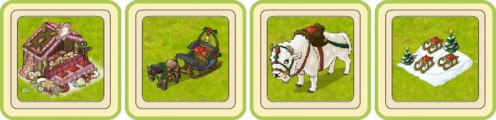 Name:  Christmas cookie stand, Cosy winter coach, Giant snow buffalo, Group sleigh-ride .jpg