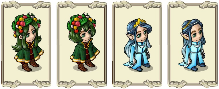 Name:  Fir marvel (female) and (male), Flowing elf hair (female) and (male).jpg