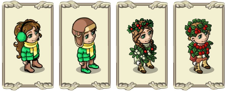 Name:  Warm headdress (female) and (male), Winter berries (female) and (male).jpg