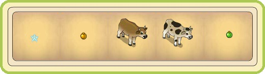 Name:  Glistening snowflake and Golden Christmas bauble (tree decorations), Grazing cow (brown) and (sp.jpg Views: 670 Size:  21.8 KB