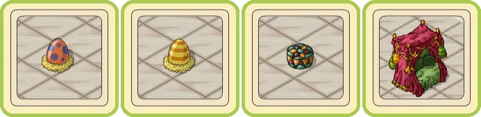 Name:  Giant spotted egg, Giant striped egg, Green brocade cushion, Heavenly seating.jpg Views: 643 Size:  49.9 KB