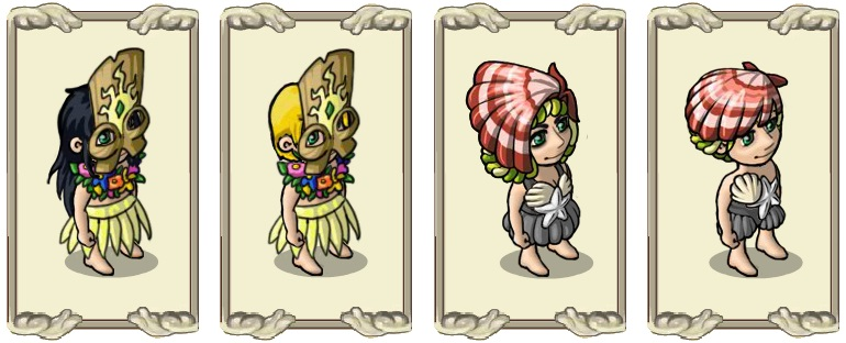 Name:  Mystical headpiece (female) and (male), Shell helmet  (female) and (male).jpg