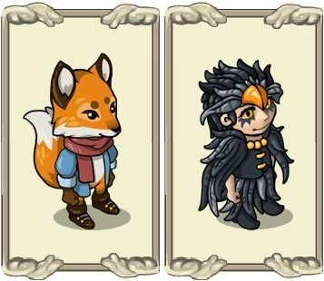 Name:  Autumn Mood, Robes, Fox suit, Night black feather dress, forum gallery.jpg