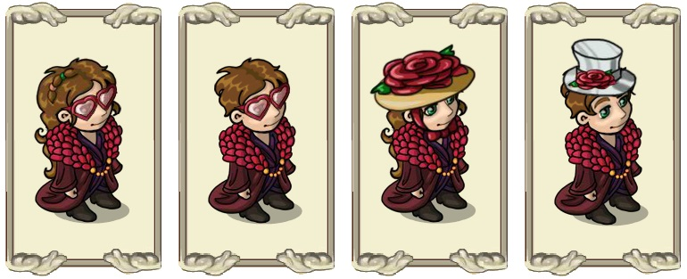 Name:  Pink Glasses (f) and (m), Romantic Hat (f) and (m).jpg Views: 838 Size:  88.8 KB