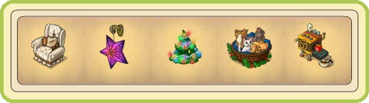 Name:  Learned wintry chair (1 seat), Lilac Christmas lantern, Little Christmas tree, Lively cat litter.jpg
