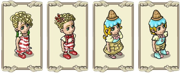 Name:  Robe, Candy cane fashion (female) and (male), Wafer ice cream costume  (female) and (male).jpg Views: 65 Size:  86.8 KB