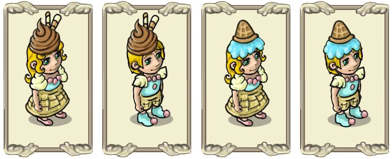 Name:  Headwear, Chocolate cap (female) and (male), Viscous waffle  (female) and (male).jpg Views: 57 Size:  88.6 KB