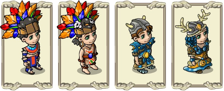 Name:  Robes, Miramayan festival dress (male) and (female), Norseman's armour (male) and (female).jpg