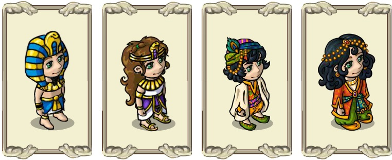 Name:  Robes, Robe of the founder (male) and (female), Sand-proof magical robe (male) and (female).jpg