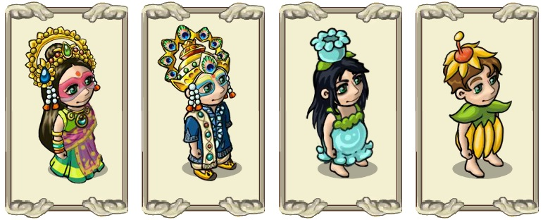 Name:  Luxuriant headdress (female) and (male), Scented spring cover (aqua) (female) and (yellow) (male.jpg Views: 419 Size:  96.0 KB