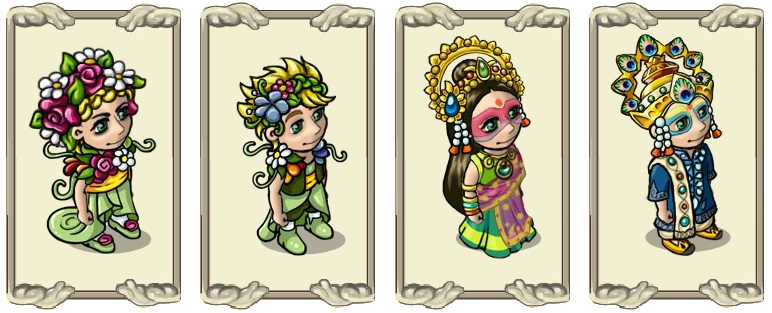 Name:  Spring blessing (female) and (male), Tradition conscious robe (female) and (male).jpg Views: 3218 Size:  103.4 KB
