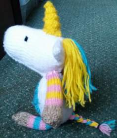 Name:  Knitted unicorn at side.jpg