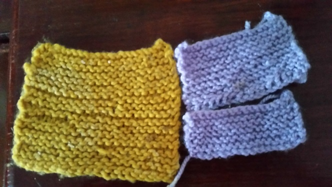 Name:  First lot of knitting.jpg