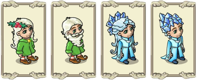 Name:  Pure winter magic (female) and (male), Sharp ice-mane (female) and (male).jpg