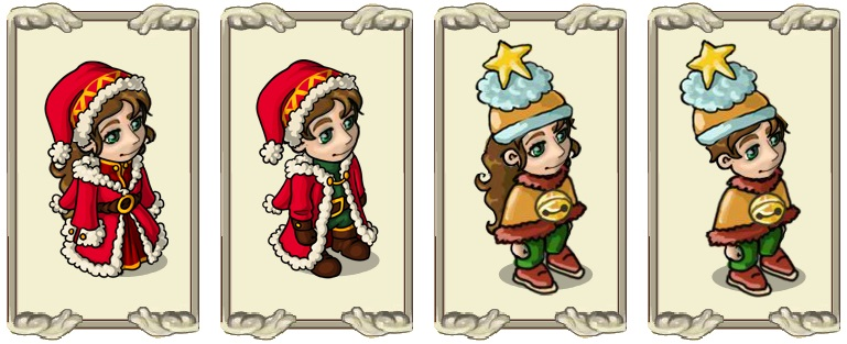 Name:  Magnificent classic (female) and (male), Official winter magic hat (female) and (male).jpg