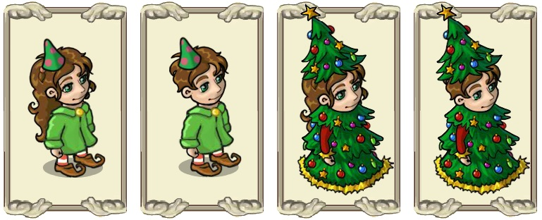 Name:  Party Hat (female) and (male), Prickly headpiece (female) and (male).jpg