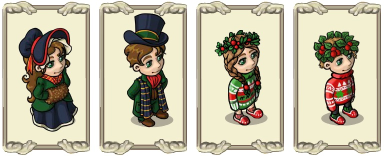 Name:  Festive winter dress (female) and (male), Festive woolly jumper (female) and (male).jpg