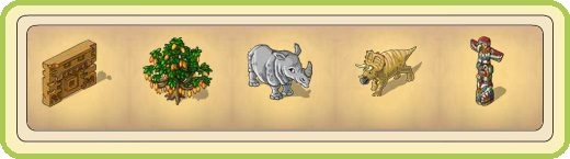 Name:  Temple fragment, Thick cocoa tree, Thick skinned rhino, Topsie, Totem pole.jpg