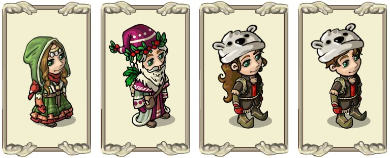 Name:  Head-wear of the winter walker (female) and (male), Husky design (female) and (male).jpg