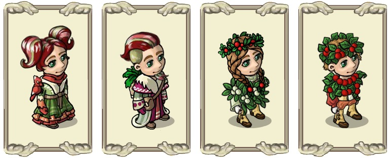 Name:  Attire of the winter walker (female) and (male), Berry coat (female) and (male).jpg