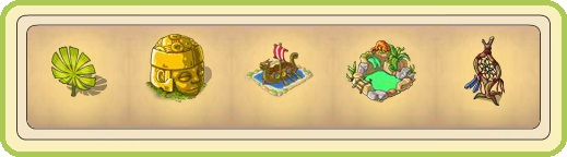 Name:  Glowing jungle fern, Golden idol, Historical dragon ship (2 seats), Hot spring (2 seats), Huge d.jpg