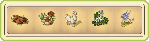 Name:  Wallowing pig, Watering hole, White llama, Wild tormentil, Winged lion (1 seat).jpg