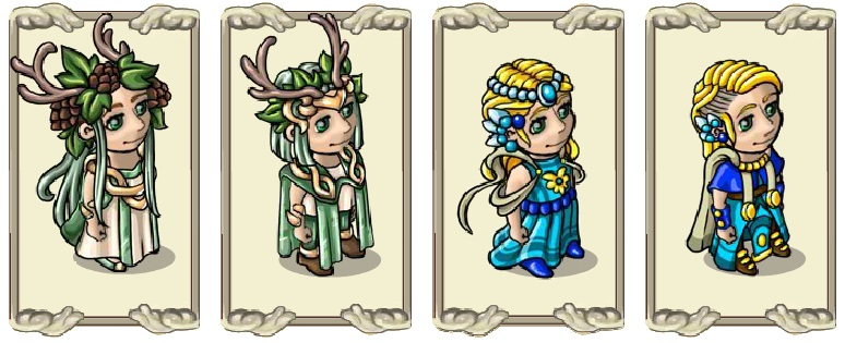 Name:  Well-wisher's costume (druid) and (mage) - female and male.jpg Views: 294 Size:  104.7 KB