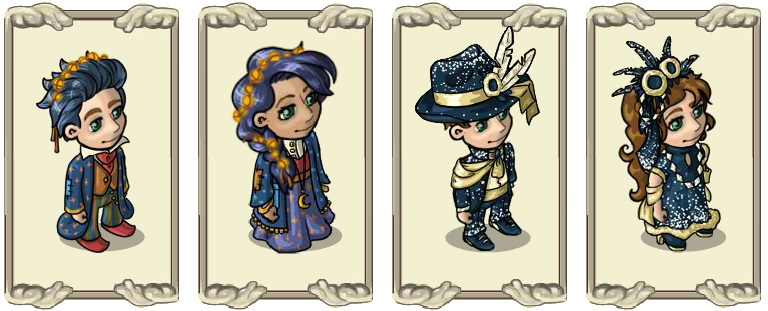 Name:  Fortune teller's attire (male) and (female), Greet the New Year in style (male) and (female).jpg