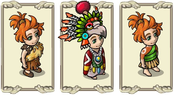 Name:  Robes, Becoming gatherer gear (m and f), Healer's gown (m and f), Plain forest dress (m and f).jpg Views: 1298 Size:  78.3 KB