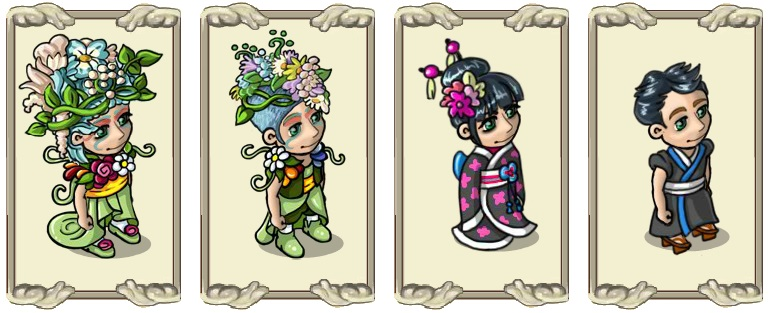 Name:  Wild spring flower bouquet (female) and (male), Zen hairstyle (female) and (male).jpg Views: 404 Size:  97.9 KB