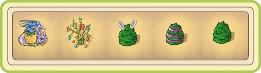 Name:  Dragon bells, Easter bouquet, Egg-shaped bush (ears), Egg-shaped bush (pink), Egg-shaped bush (p.jpg Views: 858 Size:  25.9 KB